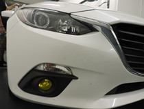 2014 - 2015 Mazda 3 Pre-Cut Fog Light Overlays