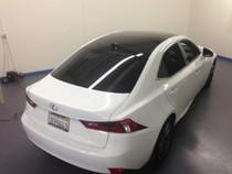 2013 - 2015 Lexus IS Gloss Black Roof Wrap