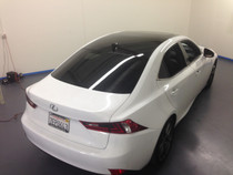 2013 - 2015 Lexus IS Gloss Black Roof Wrap