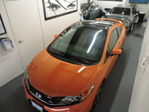 2015 Civic SI - Gloss Black Roof Overlay