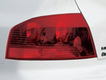 Evo 9 | Full Red Out Tail Light Vinyl Overlays