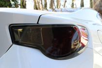 Subaru BRZ Smoked Tail Light Overlays