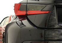 Lexus RC Smoked Tail Light Overlay Inserts ( 2015+ )