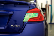 Neo Chrome Tail Light Overlay (2015-2018 WRX / STI)