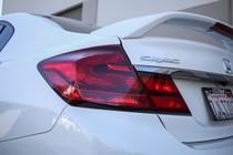 Civic Sedan Tail Light Redout Overlays (2013-2015)
