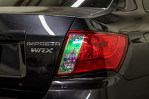 2008-2014 WRX & STI Sedan Tail Light Overlays (Neo Chrome)