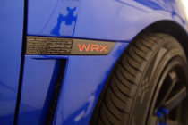 WRX Badge Blackout kit + Red Lettering Inlays (2015+)