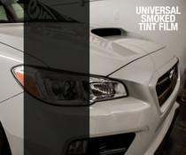 Smoked Tint - Bulk Tint Film 12-inch wide  (Headlight, Tail Light, Fog Lights)