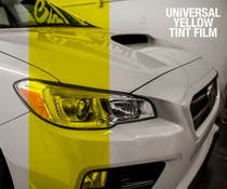 Yellow Tint - Bulk Tint Film 12-inch wide  (Headlight, Tail Light, Fog Lights)