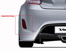 Veloster Bumper Reflector Overlays (2012-2017 Non Turbo)