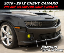 2010-2013 Chevy Camaro Pre-Cut Fog Light Overlays