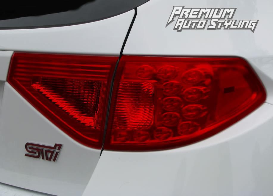 2008 2014 Subaru Wrx Amp Sti Hatchback Full Red Tail Light