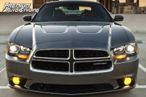 2011-2014 Dodge Charger Pre-Cut Fog Light Vinyl Overlays