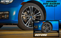 Scion FRS Pre-Cut Smoked Side Marker Overlays