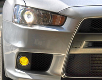 2008-2013 Lancer EVO Pre-Cut Fog Light Vinyl Overlays
