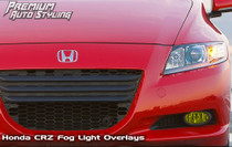 2010-2013 Honda CRZ  Pre-Cut Fog Light Vinyl Overlays