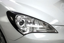 Headlight Amber Delete Eyelid Overlay (2009-2012 Genesis Coupe)