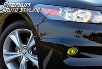 Honda Accord Coupe Yellow Tint Fog Light Overlays
