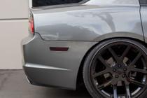 Rear Bumper Side Reflector Overlays (2011-2014 Dodge Charger)