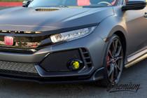 Pre-Cut Fog Light Overlays (2016-2017 Honda Civic)
