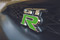 Lime Green Nissan GTR Emblem Overlay
