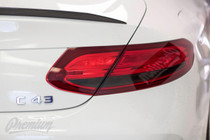 C-Class Coupe / Convertible  Tail Light Overlays (2015-2018)