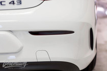 C-Class Coupe / Convertible Bumper Reflector Overlays (2015-2018)