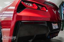 Rear Bumper Reflector Vinyl Tint Overlays (2014-2018 C7 Corvette)