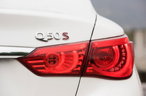 Red Tail Light Overlays (2014-2017 Q50)