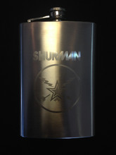 """Star & Bolts"" Shurman Travel Flask"