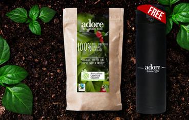 Adore 100% Organic Blend + Free Adore Flask