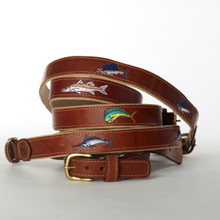 Belts with Fish on Them, Ocean Rider Belts, Ocean Rider USA