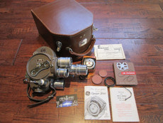 Collector's Bell & Howell Filmo 70 DL 16mm Movie Camera