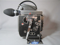 13X Viewer Red Dot - Bolex Rex-5 H6 16mm Movie Camera