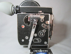 1966 Super-16 Bolex Rex-4 H6 16mm Movie Camera (No 227872)
