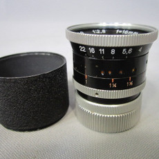Kern Paillard Yvar 2.8/16mm C-Mount Lens (No. 220716)