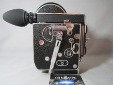 Super-16 Bolex Rex 3 H16 Reflex 16mm Movie Camera