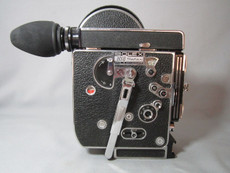 Super-16 Bolex Rex 4 H16 Reflex 16mm Movie Camera (No 220355)
