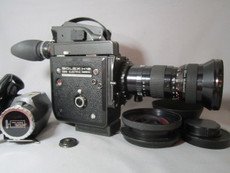 Factory Super-16 Bolex EBM H16 Reflex 16mm Movie Camera 13x Viewer