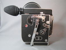 Super-16 Bolex Rex 4 H16 Reflex 16mm Movie Camera