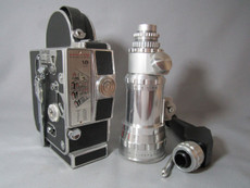 1963 Bolex H16-M3 16mm Movie Camera with Som Berthiot Zoom (No. 203153)