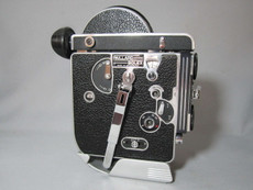 Bolex Rex-1 16mm Movie Camera - PRO SERVICED, TESTED, READY TO RUN