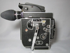 Bolex SBM H16 16mm Movie Camera with 13x Viewer