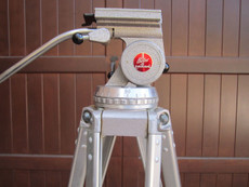 Original Bolex Aluminum Tripod for 16mm Movie Cameras