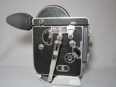 Bolex Rex-1 16mm Movie Camera with 8x Viewer (No 143502), PRO-SERVICED, TESTED, READY TO RUN