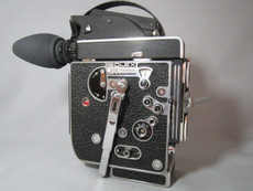 Super-16 Bolex Rex 5 Movie Camera with 10x Viewer
