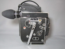 Super-16 Bolex Rex 5 SBM Movie Camera with 13x Viewer - SERVICED, TESTED, READY TO FILM