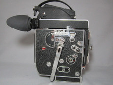 Super-16 Bolex Rex 5 Movie Camera with 10x Viewer - Serviced, Lubed, Tested,  and Ready to Film!