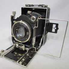 Agfa Folding Bellows Camera & Doppel Anastigmat 10.5 cm Lens + Compur Shutter