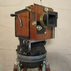 Wood Debrie Parvo Hand Crank 35mm Movie Camera - SOLD